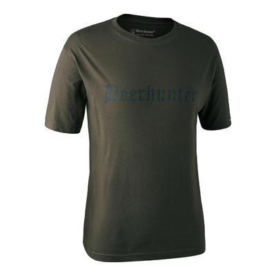 Triko Deerhunter s nápisem Deerhunter s krátkým rukávem - 1
