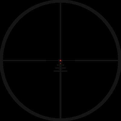 Kahles K16i 1-6x24 s osnovou 3GR, MIL - 2