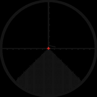Kahles K624i 6-24x56 s osnovou AMR, ccw, right, MIL - 2