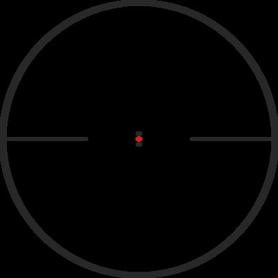 Kahles K18i 1-8x24 s osnovou IPSC, MIL - 2