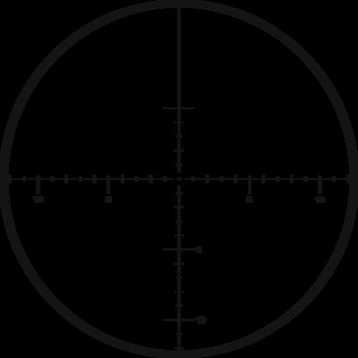 Kahles K1050 10-50x56 s osnovou MOAK, ccw, MOA - 2
