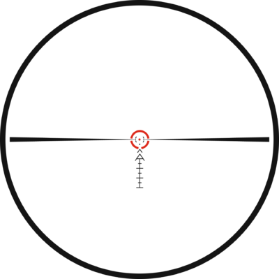 Kahles K16i 1-6x24 s osnovou SI1, MIL - 2
