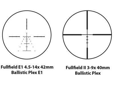 Burris FullField II 3-9x40 s osnovou E 1 bez osvětlení - 3