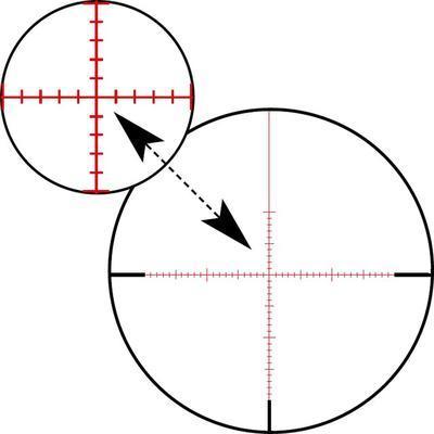 Zeiss Conquest V4 6-24x50 s balistickou věžičkou, s červeným bodem, s osnovou ZMOAi-1 nebo 60 - 3