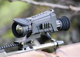Termovizní zaměřovač Hikvision 3,1-12,4x čočka 50mm - 3
