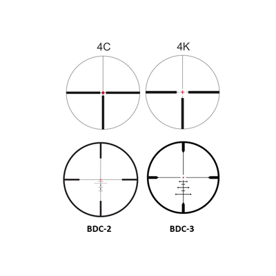 Meopta Optika6 3-18x50 RD SFP - 3