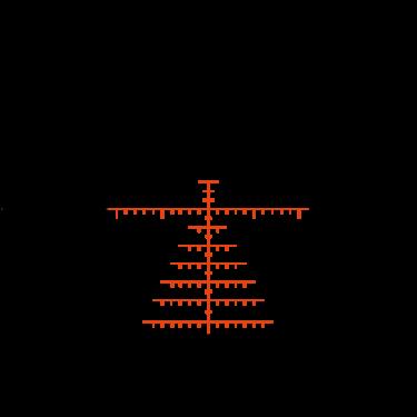 Swarovski X5i 5-25x56 P 0,5 cm / 100 m L s  osvětlením - 4