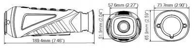 Termovizní monokulár Hikvision 25mm čočka - 4