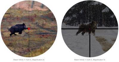 Blaser Infinity 1-7x28 IC s červeným bodem a šínou - 6