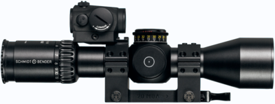 Schmidt-Bender PM II Ultra Short 5-20x50 bez osvětlení záměrné osnovy - 7