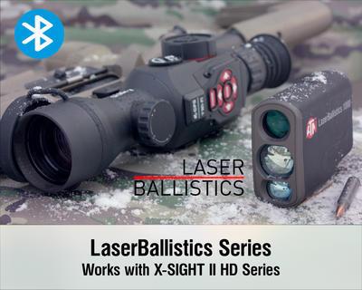 Dálkoměr ATN LaserBallistics 1000 Laser RANGEFINDER 1000m BLUETOOTH - 7